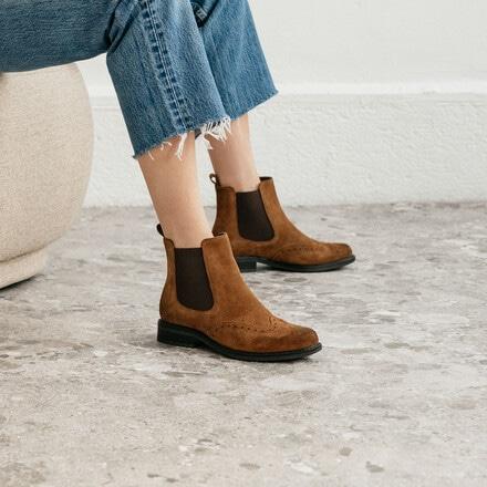 boots plate camel jonak