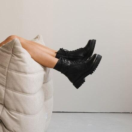 Femmes Bottes A Lacets Bottines Bottes Boots couleur camel taille 39